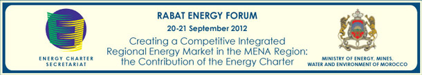Rabat Energy Forum 20-21 September 2012